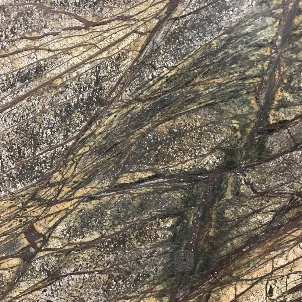 Marble – Rain Forest Brown Leathered-min