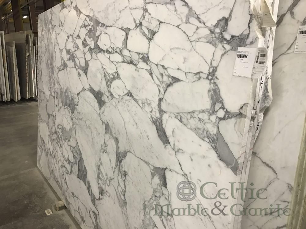 Marble – Statuary Arabesque Leathered slab-min