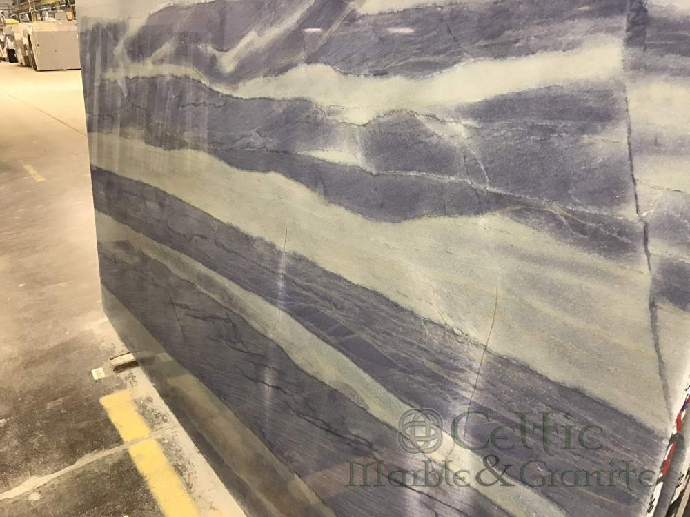 Quartzite – Azul Macaubas slab-min