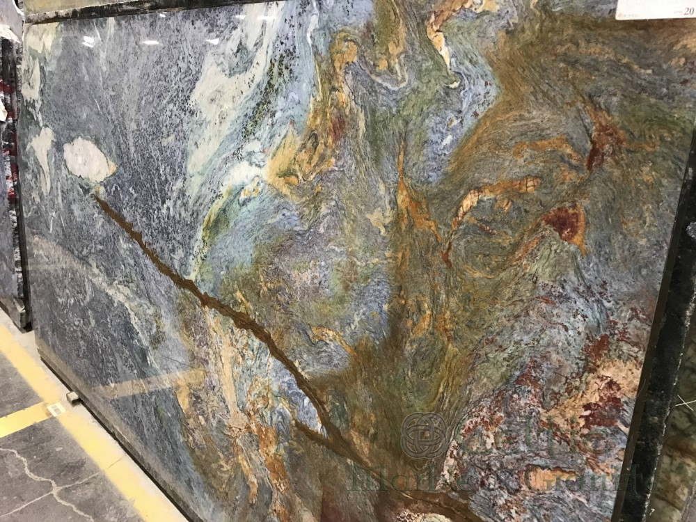 Quartzite – Blue Louise slab-min