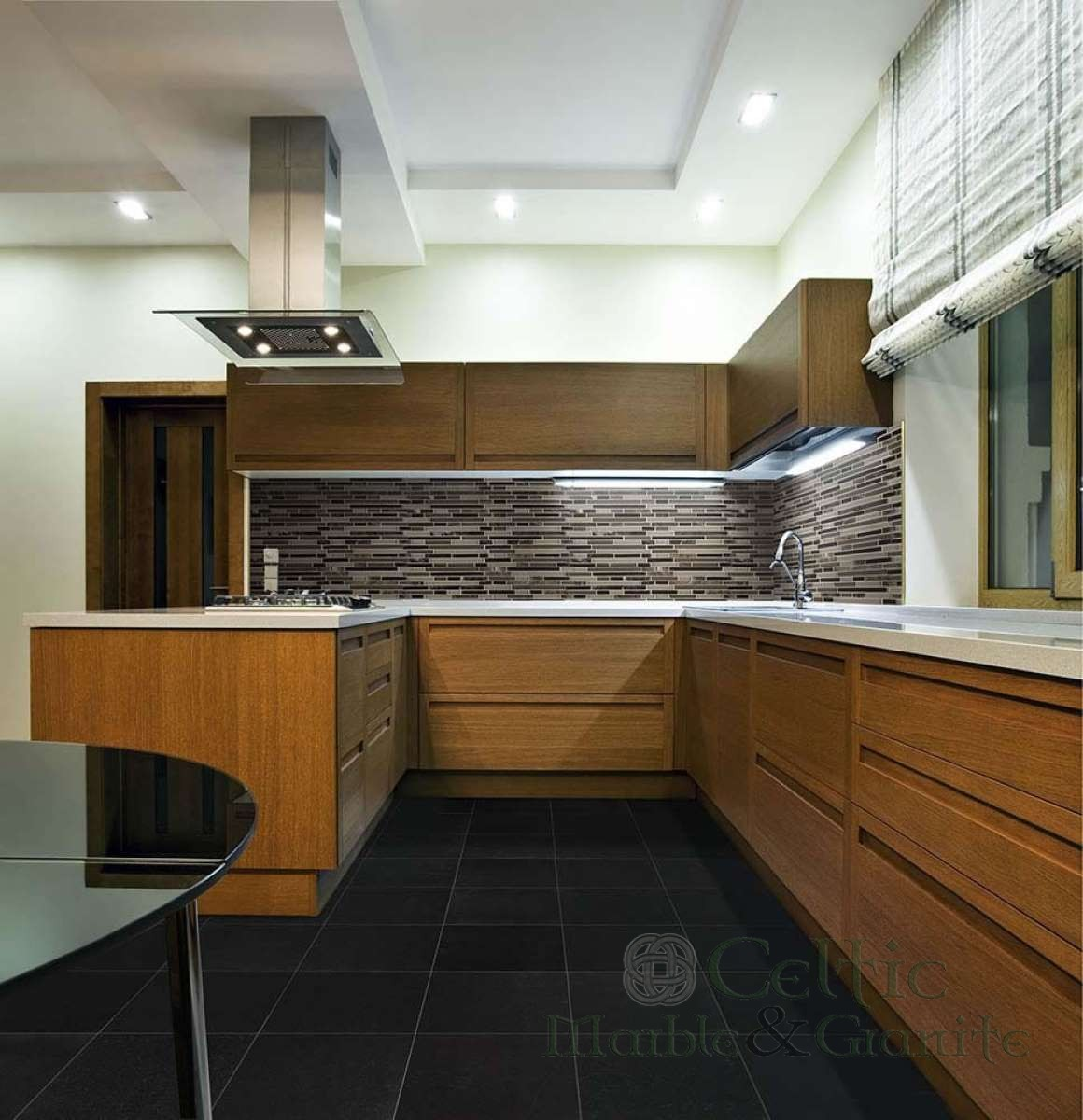absolute-black-granite_royal-oaks-blend-interlocking-pattern-8mm-a_5